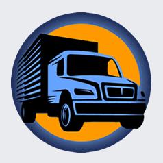 logotipo Fletes y mudanzas Gotma