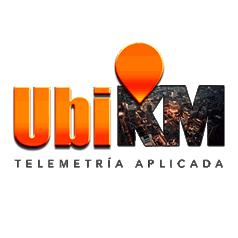 logotipo UbiKM Telemetría