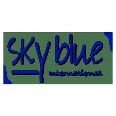 logotipo Uniformes Skyblue