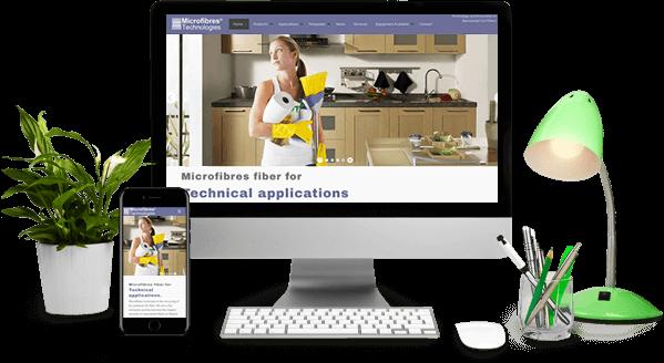 Ejemplo de diseño y desarrollo web en desktop y movil.